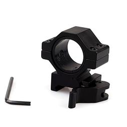 2PCs Quick Release QD Weaver//Picatinny Scope Mount 25.4mm Ring All Steel