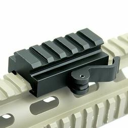 "Quick Release .5"" Low Profile Riser QR Block Mount for Picat"