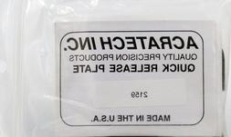 Acratech Quick Release Arca style Plate #2159  NIP Free Ship