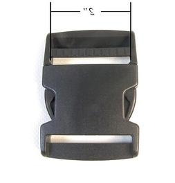 "Quick Release Buckle, Side Release Clip, 2"" Inch, 1 Pc. Ship"