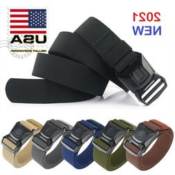 Quick Release Buckle Survival Army Military Belt Strap Tacti