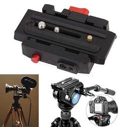 Quick Release Clamp Adapter + QR Plate P200 Compatible for M