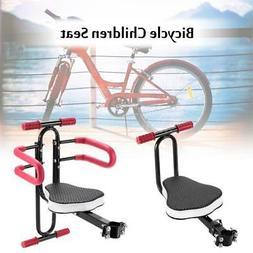 Quick Release Front Mount Child Bicycle Seat Kids Saddle Ele