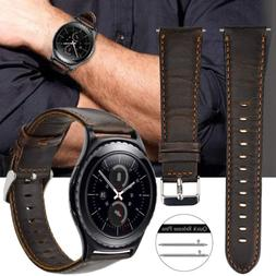 quick release genuine leather watch band 18