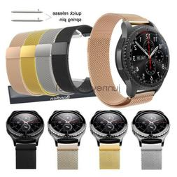 quick release milanese steel strap watch band