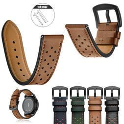 Quick Release Pin Genuine Leather Watch Band Strap For Huawe