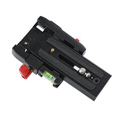 SHIHONG Quick Release Plate with 1/4 3/8 inches Screw Hole f