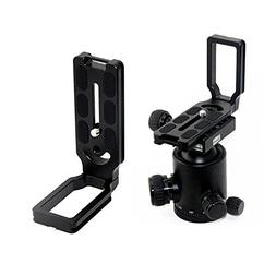 YtPgto Quick Release Plate Aluminum Alloy L Bracket for Niko