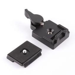 Quick Release Plate Clamp Adapter for Manfrotto 200PL-14 323