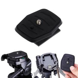 Quick Release Plate Universal QB-4W Tripod Screw Adapter For