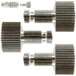 """3 Pack AIRBRUSH QUICK RELEASE PLUGS 1/8"""" Male End Tail FITS"""