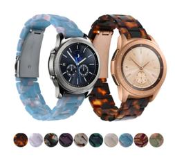 Quick Release Resin Wristband Watch Band Strap For Samsung G