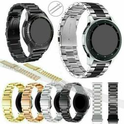 Quick Release Stainless Steel Link Watch Band For Samsung Ga