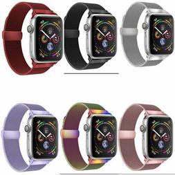 Quick Release Stainless Steel Milanese Loop for Apple Watch