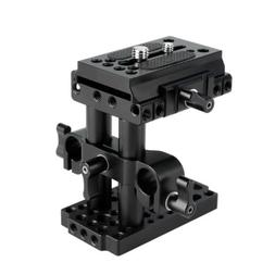 NICEYRIG Quick Release Tripod Mount Baseplate for Manfrotto
