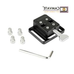 CAMVATE Quick Release V-Lock Base Station Wedge Kit for Came