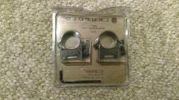 Leupold Quick Release Weaver Style QRW Rings, 1 inch, Med Gl