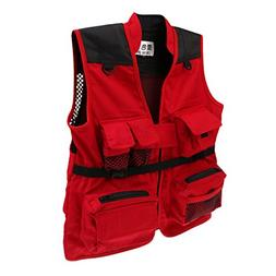 MagiDeal Kids Quick-Dry Multi-Pocket Fishing Photo Vest Outd