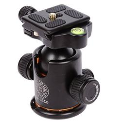 MagiDeal QZSD Q03 Camera Alloy Tripod Ball Head 36mm 8kg wit