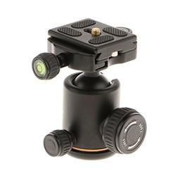 MagiDeal QZSD Q06 Camera Alloy Tripod Ball Head 36mm 8kg wit