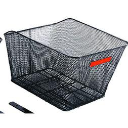 "Sunlite Rack Top Mesh Basket, 13 x 16 x 8"", Black"