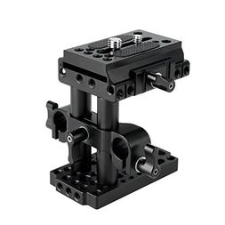 NICEYRIG 15mm Rail Riser Rig System Quick Release Base Kit w