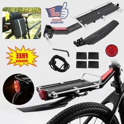 Rear Bicycle Rack Cargo Rack Quick Release Alloy Carrier wit