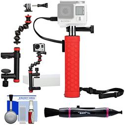 Joby Rechargeable Battery Hand Grip Monopod for Action Camer