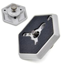 Replacement Camera Mounts Clamps Hexagonal Quick Release Pla