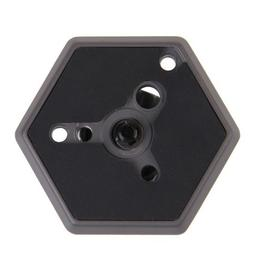 Vktech Replacement Hexagonal Quick Release Plate with 1/4inc