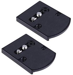 Set of 2 Ivation Replacement Quick Release Plate for the Man