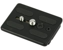 ephoto replacement quick release plate for fluid tripod head