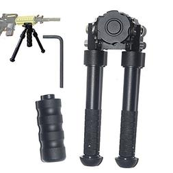 Rifle Bipod 6.5 to 9 Inches Tactical Bipod with 360 Degree S