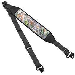 Braudel Rifle Sling Two Point Slings with Mil-Spec Swivels,