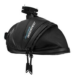 Roswheel Rainproof Bicycle Saddle Bag, Waxed Under Seat Bike