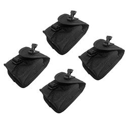 MagiDeal Pack of 4pcs Scuba Diving Spare Weight Belt Pocket