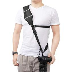 Powerextra Camera Shoulder Neck Strap with Quick Release and