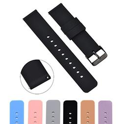 soft silicone watch band
