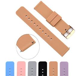 MLQSS Soft Silicone Watch Band with Quick Release Pins - Cho