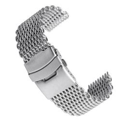 Men Watch Band Wrist Stainless Steel Quick Release Strap 18/