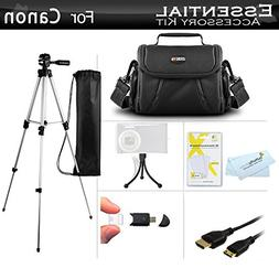 Starter Accessories Kit For Canon PowerShot SX40 HS, G1 X, S