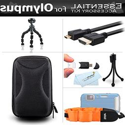Starter Accessories Kit For Olympus TOUGH TG-5, TG-1iHS, TG-