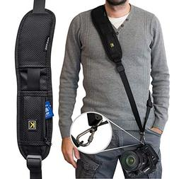 Camera Strap,Camera Sling Strap with Quick Release Plate, Ad