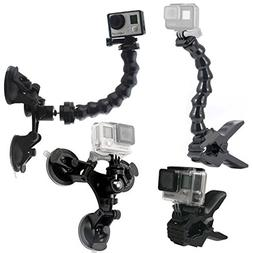 GreatCool Suction Cup Car Mount Holder with 360 Degree Mount