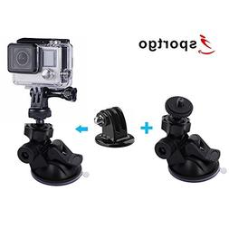 iSportgo Suction Cup Mount with 360° rotation design for Go
