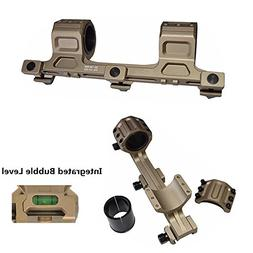 """HWZ Tactical 1"""" 25mm to 30mm Dual Ring Cantilever Heavy Duty"""
