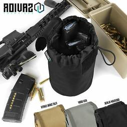 Tactical MOLLE Quick Release Utility Dump Pouch Mag Drop Mag