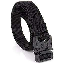 "Efanr Mens Tactical Rigger's Belt, 1"" Adjustable Military St"