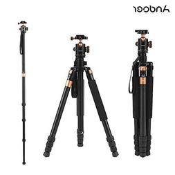 Andoer TP968 Aluminum Alloy 63Inch/ 160cm Portable Video Cam