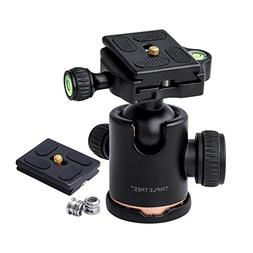 Tripod Ball Head, 360 Degrees Rotation for Canon Sony Nikon